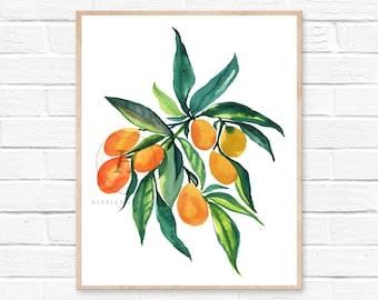 Kumquat Print