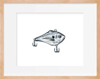 Fishing Lure Print