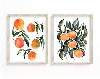 Citrus Print Set, Unframed