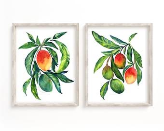 Mangos Prints Set of 2