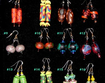 sold individually Bright polymer beads from Karen Murphy. Bag 3