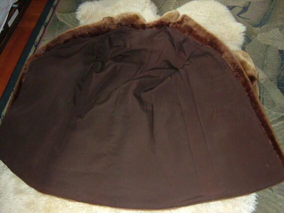 Mouton coat, 1940's, great shape, puff sleeve, sp… - image 6