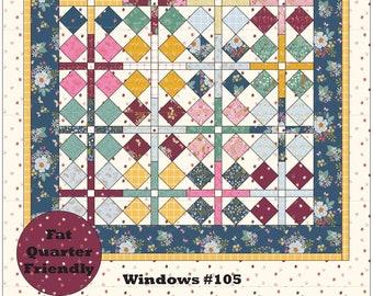 Windows PDF Quilt Pattern