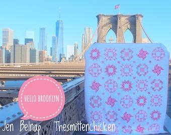 Hello Brooklyn PDF Quilt Pattern