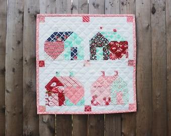Home Mini PDF Quilt Pattern