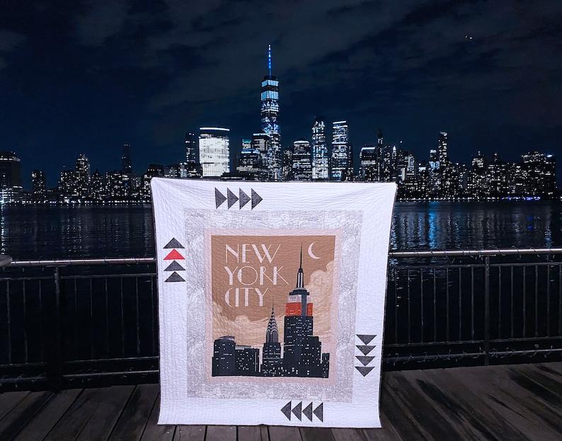 NYC PDF Quilt Pattern image 0