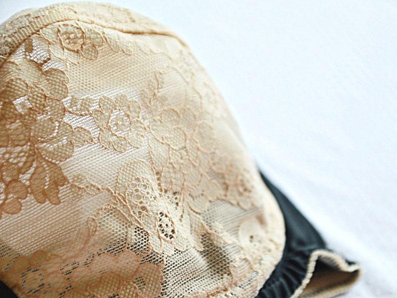 Nude lace balcony bra Black satin soft bra Plus size black bra Plus size lingerie DD cups Wide shoulder straps bra Soft bra
