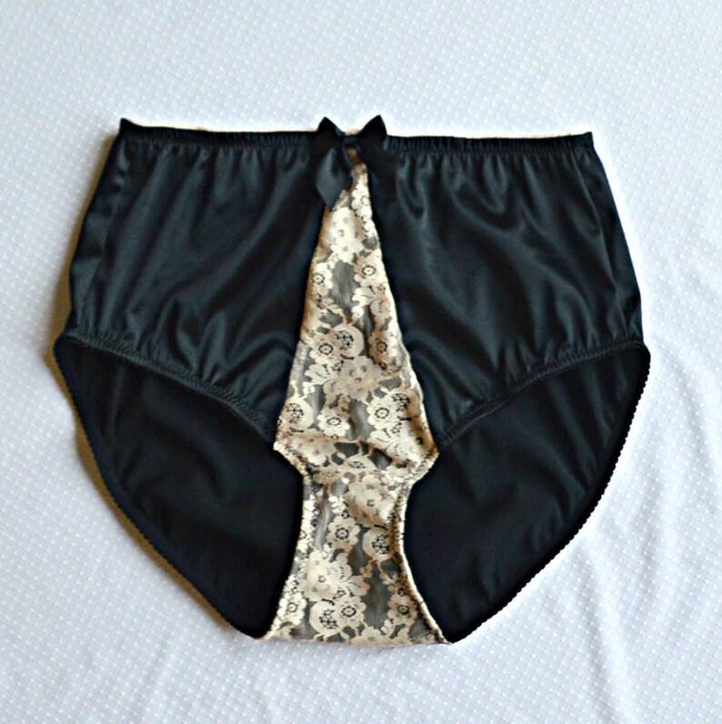 Best of Black Satin Panties