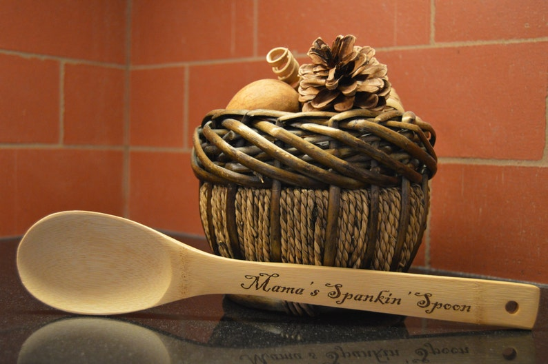 Spank Spoon Spanking Spoon Personalized Spoon Gifts For Mom Wood Spoon Gifts For Dad Wooden Spoon Gifts For Grandma Spoon Spank Wood Spoon