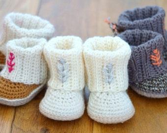 Crochet Baby Uggs Etsy