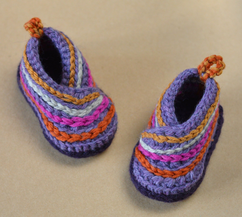 CROCHET PATTERN Baby Kimono Shoes Baby Booties Crochet Pattern for ...