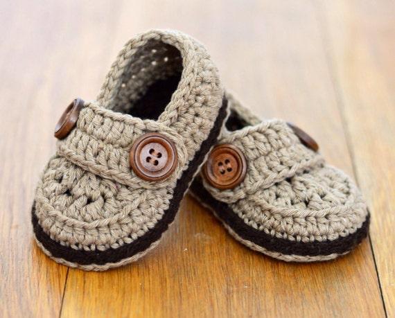 Crochet Pattern Baby Shoes Baby Loafers Easy Crochet Pattern Etsy