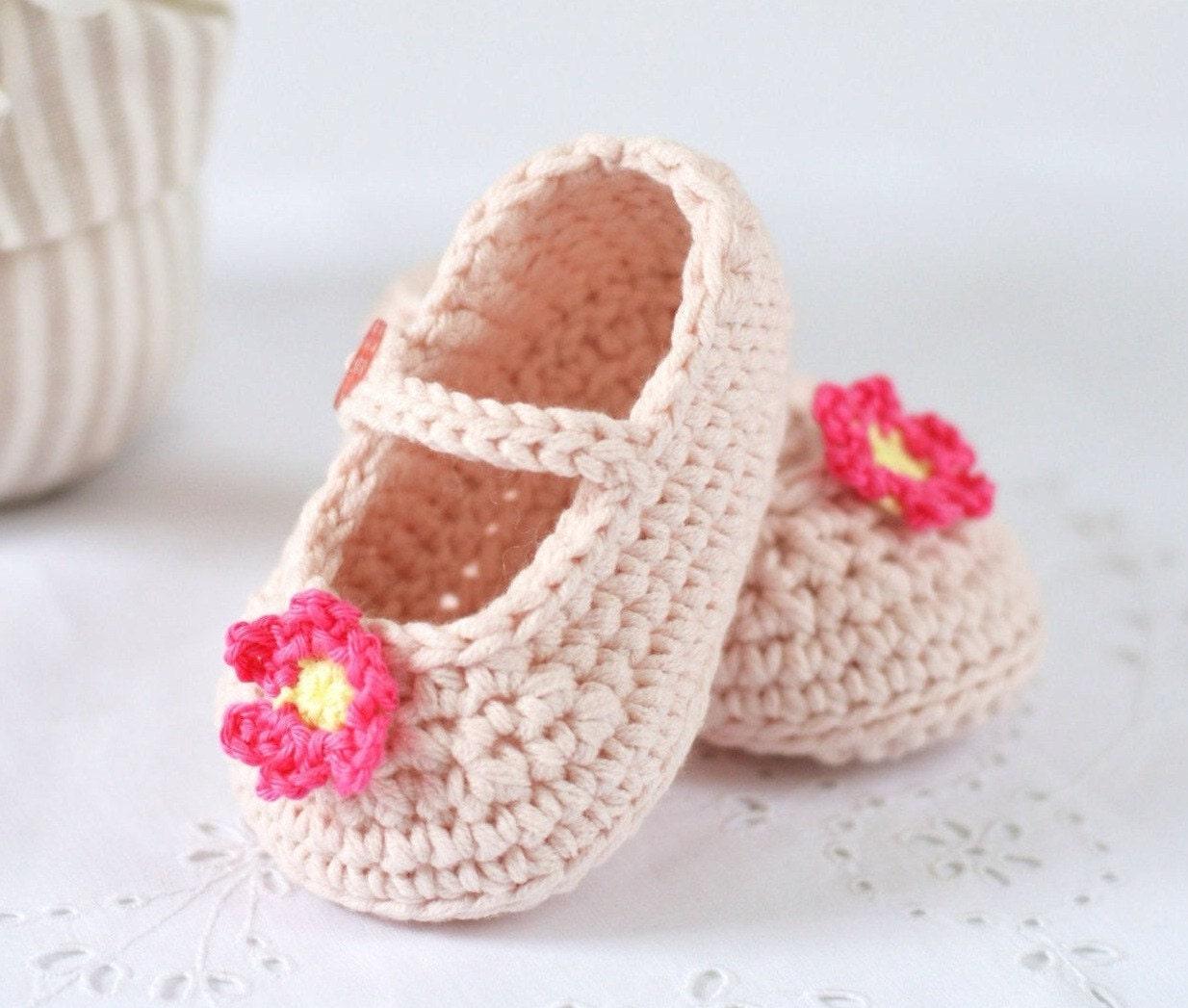 Crochet Pattern Baby Shoes Mary Janes Crochet Pattern In 3 Etsy
