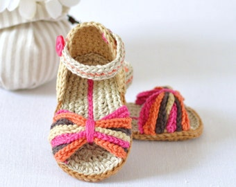 CROCHET PATTERN Baby Sandals Paris Style Baby Shoes Easy Crochet Pattern Photo Tutorial Digital File Instand Download