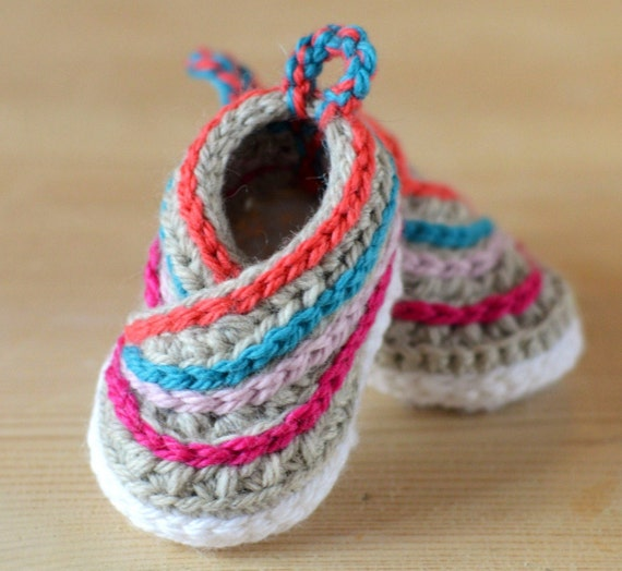 Crochet Pattern Baby Kimono Shoes Baby Booties Crochet Pattern For