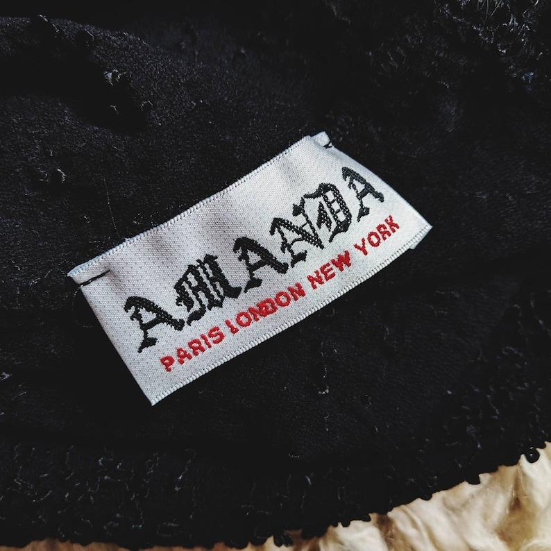 Black lace tee