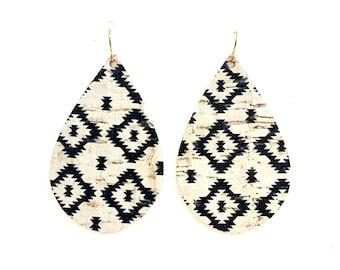 Aztec Tribe Print Guitar Pick Necklace Unique Custom Fashion Pet Card Keychain