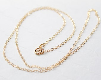 14k Gold Filled Chain upgrade, 14k Gold Fill Chain, Replace my gold plated chain with a gold filled chain