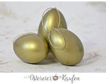 Easter eggs real eggs golden eggs Easter