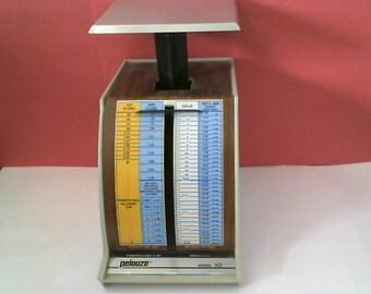 PELOUZE Evanston, IL Vintage POSTAL Scale - Model X2 - 1991