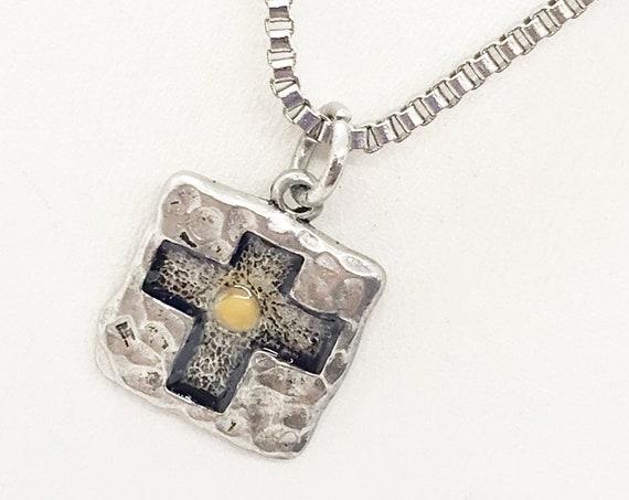 Mustard Seed Gift, Mustard Seed Necklace, Man Necklace, Gift For Him, Mustard Seed Cross, Christian Gift, Matthew 17 20 Gift, Faith Gift