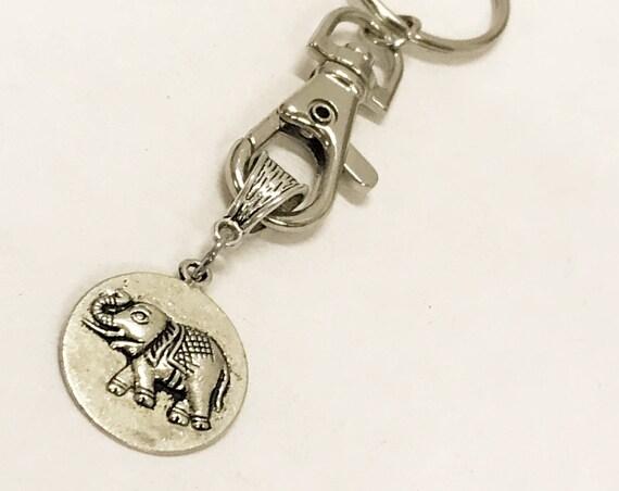 Elephant Gifts, Elephant Keychain, Good Luck Elephant, Good Luck Gifts, Keychain Gifts, Power Gifts, Wishing Good Luck, Good Luck Keychain