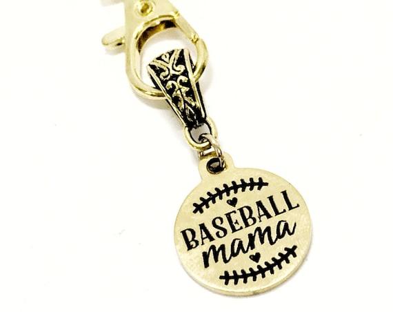 Baseball Mama Gift, Baseball Mama Keychain, Baseball Mom Gift, Team Mom Gift, Gift For Her, Gift For Baseball Mama