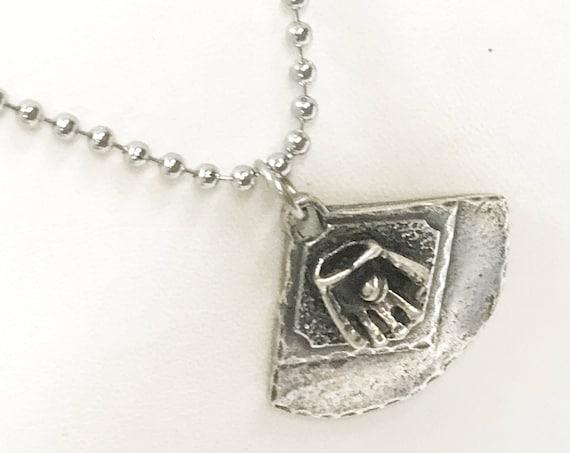 Baseball Diamond Necklace, Baseball Player Gift, Softball Diamond Necklace, Baseball Coach Gift, Softball Coach Gift, Softball Player Gift