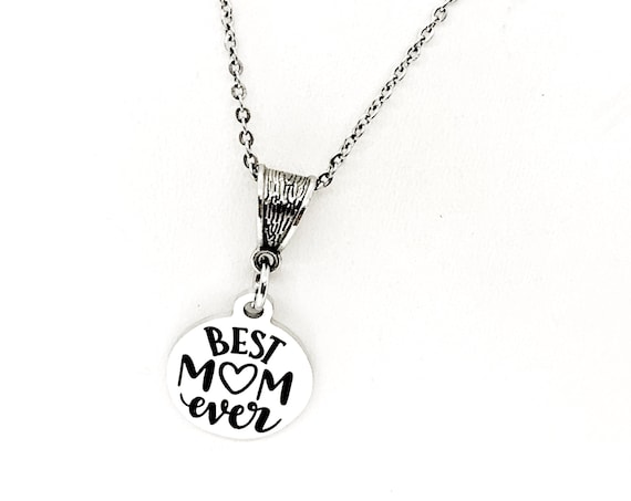 Mom Gift, Best Mom Ever Necklace, Gift For Mom, Mothers Day Gift, Mom Birthday, Mother Of the Bride , Mother of the Groom