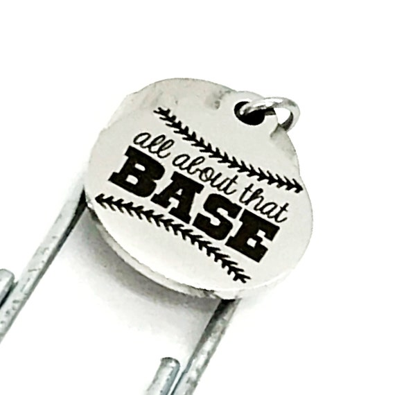Bookmark Gift, All About That Base Bookmark, Baseball Scorebook Bookmark, Planner Bookmark, Baseball Mom Gift, Baseball Player Gift