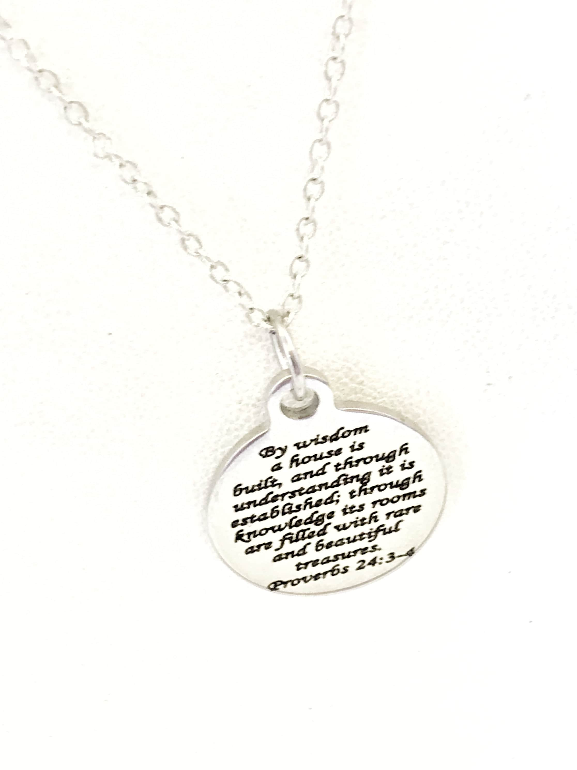 Christian Jewelry Christian Marriage Necklace Christian Wedding