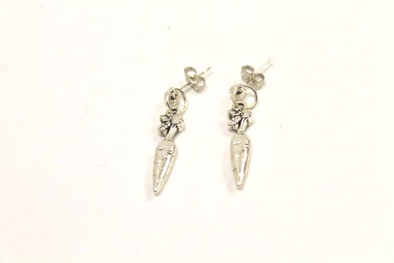 Carrot Earrings, Fun and Quirky Earrings, Food Jewelry, Gift For Her, Carrot Earrings, Girlfriend Gift, Farmers Wife Jewelry