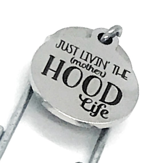 Bookmark Gift, Mom Bookmark, Just Livin The (Mother)Hood Life Bookmark, Planner Bookmark, Gift For Mom, Mothers Day Gift, New Mom Gift