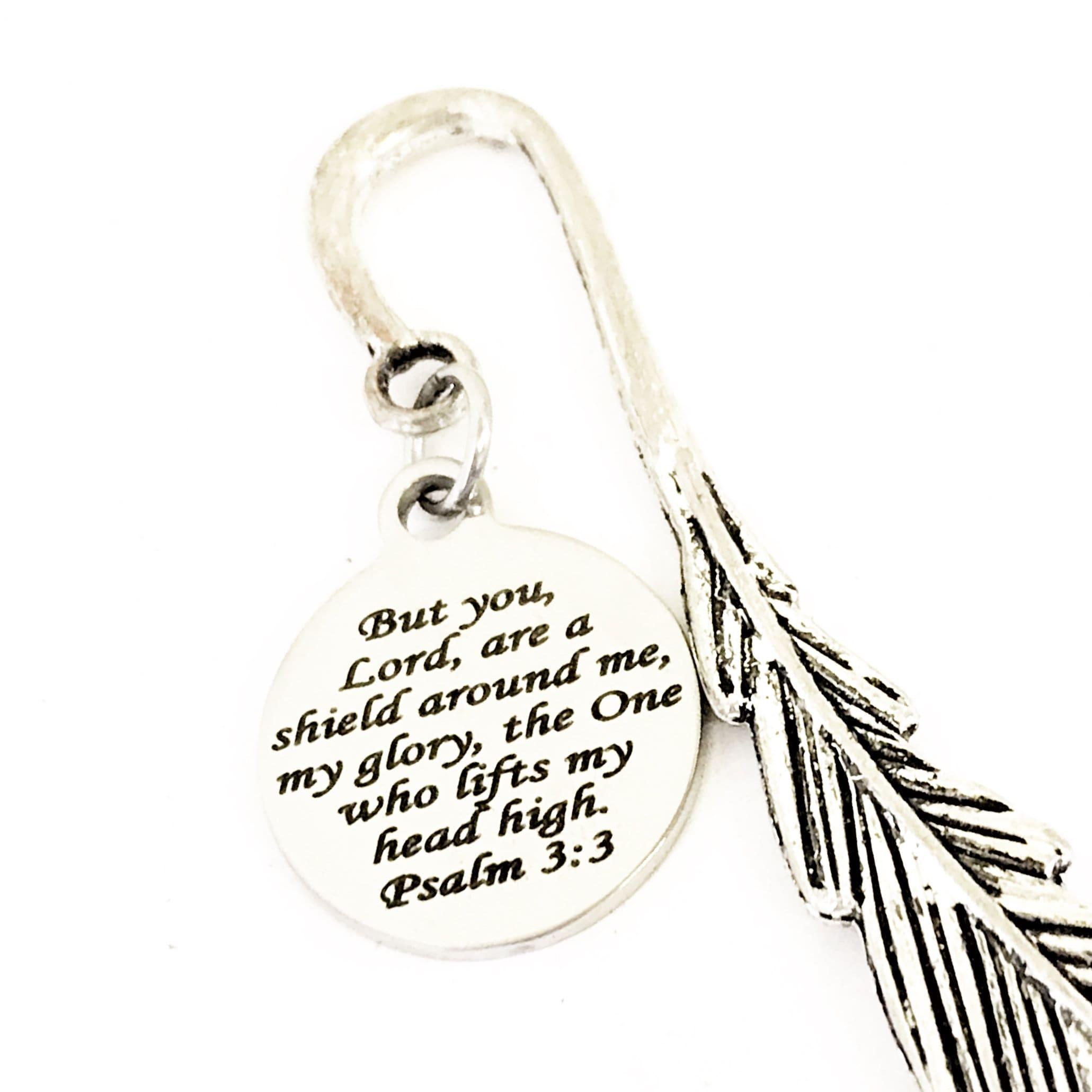 Bookmark Gift, Bible Verse Bookmark, Bible Bookmark, Psalm
