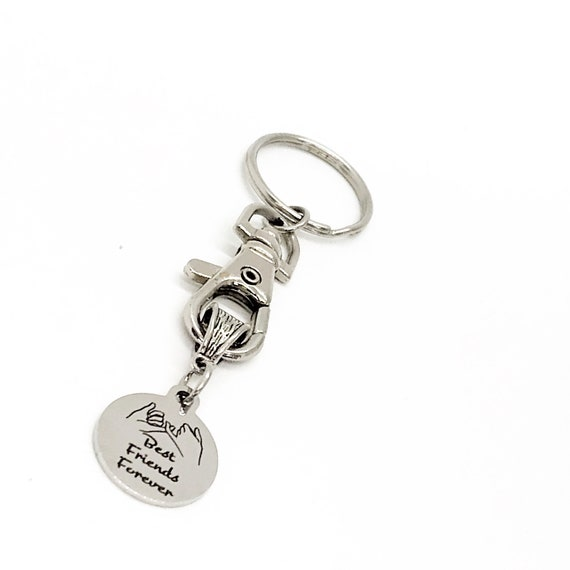 Friend Gift, Best Friends Forever Keychain, Gift For Best Friend, Best Friend Christmas, Best Friend Birthday, Gift For Her, C287