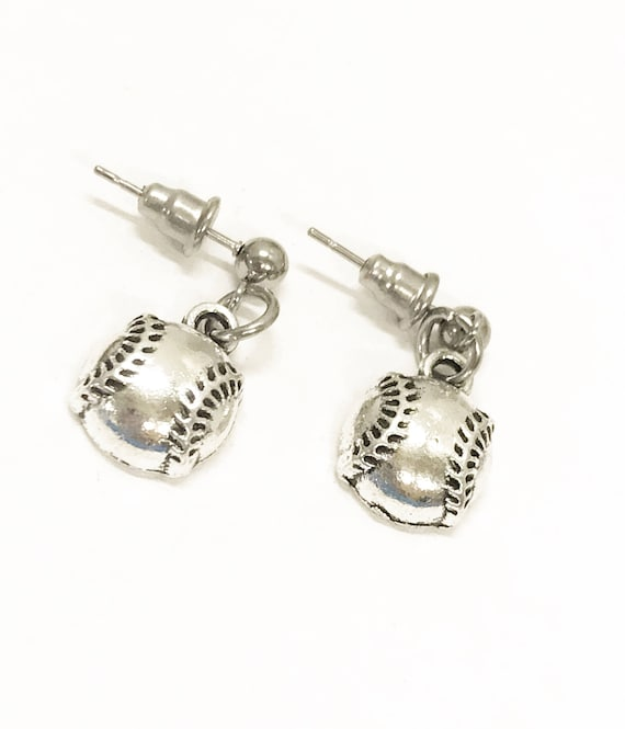 Baseball Gifts, Baseball Earrings, Baseball Mom Gifts, I Love Baseball Earrings, Baseball Fan Jewelry Gifts, Baseball Girlfriend Gifts