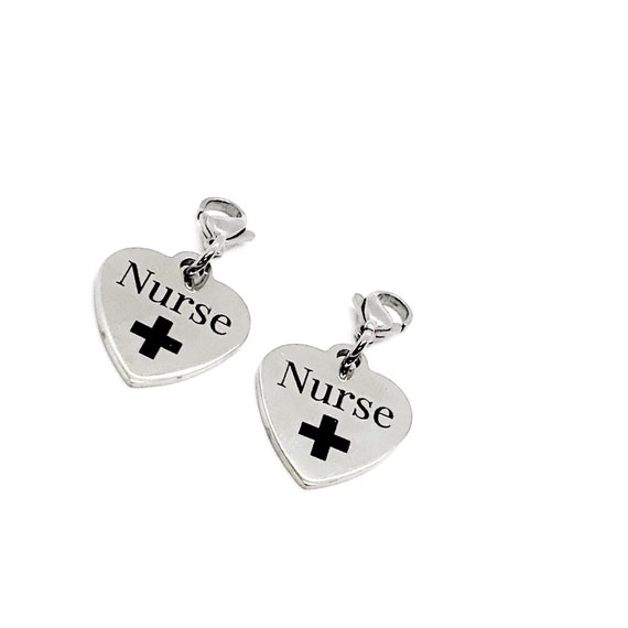 Clip On Charm, Mask Chain Charms, Nurse Gifts, Gift For Nurse,  Nurse Mask Charm, Single Charm or Set of Charms