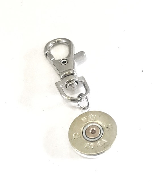 Purse Charm, Shotgun Shell Charm, Shooting Sports Bag Charm, Key Ring Charm, Purse Bling, Purse Tag, Shotgun Shell Gifts, Zipper Charms