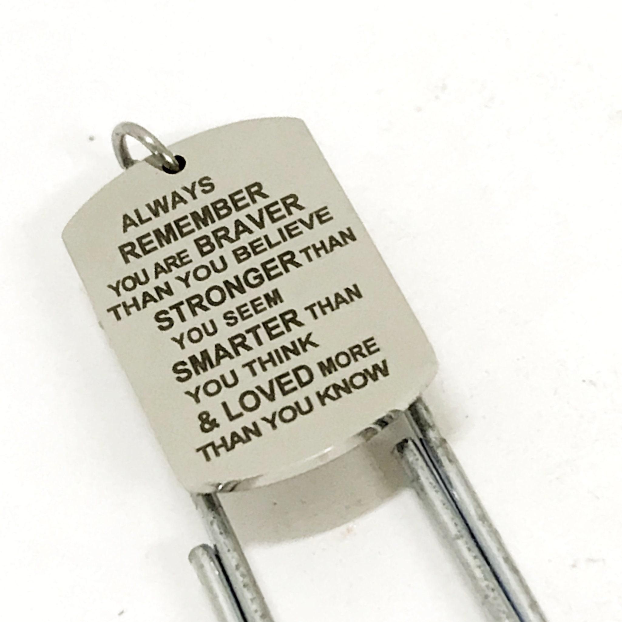 Encouragement Gift, Braver Stronger Smarter Loved