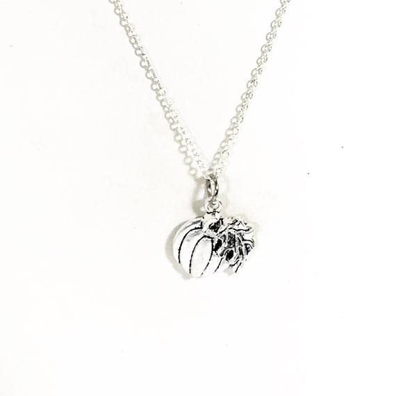 Pumpkin Jewelry, Fall Jewelry, Thanksgiving Jewelry, Thanksgiving Gift, Pumpkin Necklace, Fall Necklace, Thanksgiving Outfit Necklace