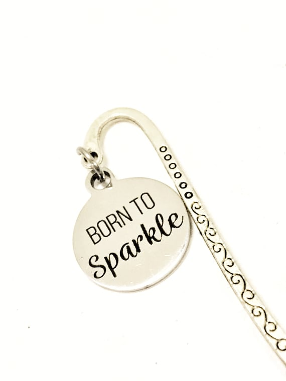 Planner Bookmark, Encouragement Gift, Born To Sparkle Bookmark, Planner Gifts, Planner Accessories, Motivation Bookmark Gifts, Daughter Gift