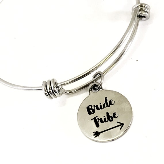 Bride Tribe Jewelry, Bride Tribe Bracelet, Bride Tribe Gift, Bridesmaids Gift, Bridesmaids Gifts, Bachelorette Party Trip