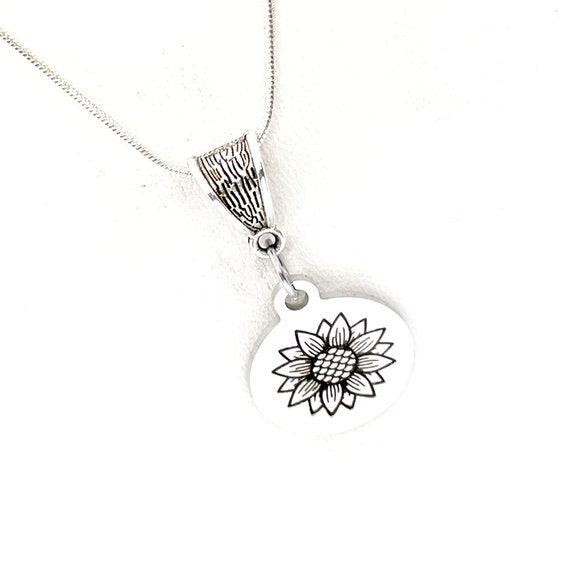 Sunflower Jewelry, Sunflower Necklace, Sunflower Lover Gift, Adoration  Gift, Daughter Gift, Gift For Her, Good Fortune Gift, Loyalty Gift
