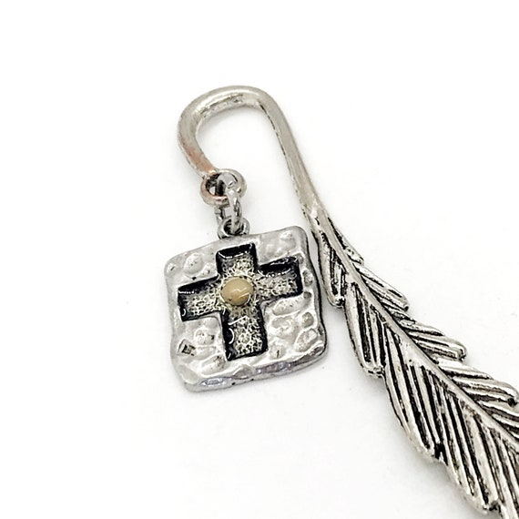 Bible Bookmark, Mustard Seed Cross. Bookmark, Bible Gifts, Christian Bookmark, Bible Charm, Planner Charm, Mustard Seed Faith, Bookmark Gift