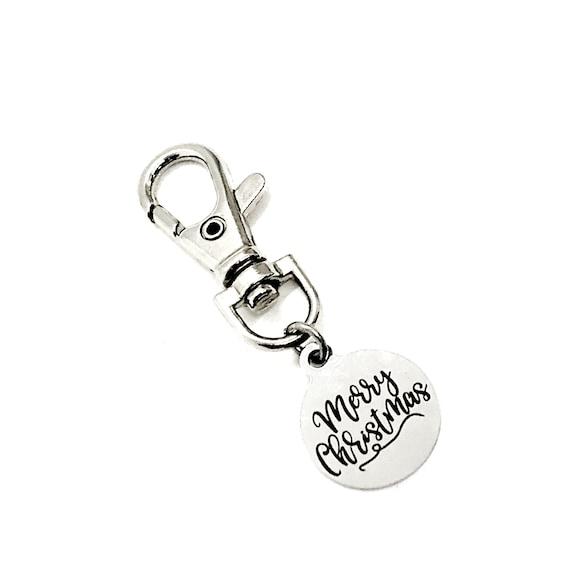 Bag Charm, Merry Christmas Charm, Christmas Charm, True Meaning Of Christmas, Gift Bag Charm, Purse Charm