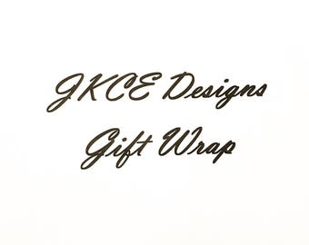 Gift Wrap, Add On Gift Wrap, Prepared Gift Wrap