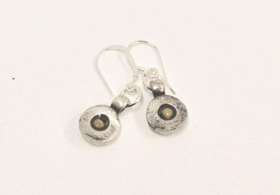 Mustard Seed Earrings, Sterling Silver Earrings, Mustard Seed Faith Earrings, Matthew 17:20 Bible Verse Jewelry, Religious Jewelry Earrings