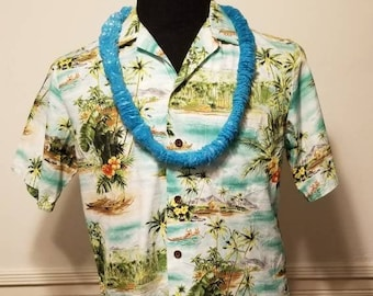 39a88b75b Vintage Authentic Hawaiian Shirt Medium