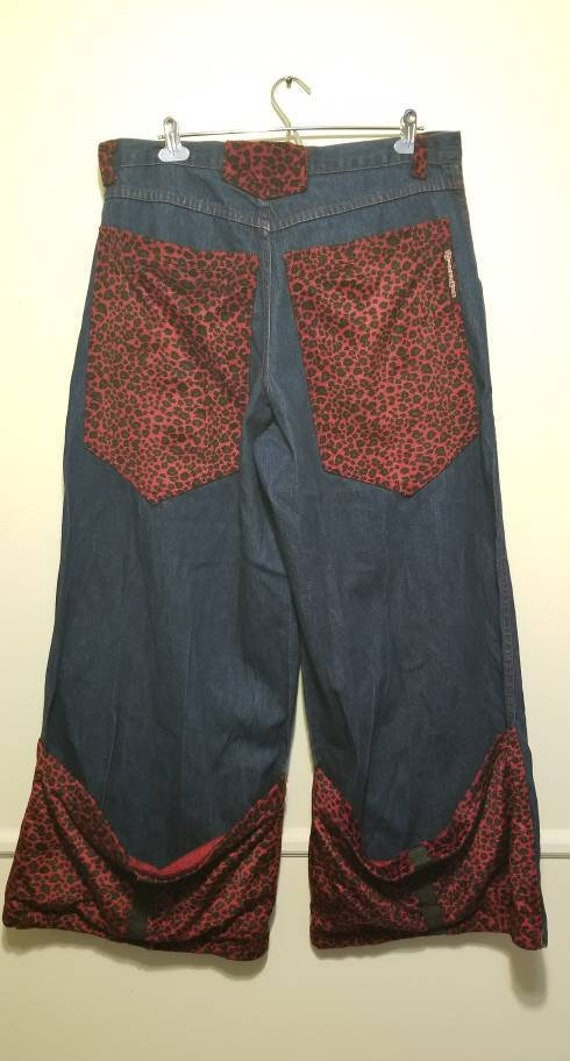 90's JNCO Style Super Baggy Extra Baggy Animal Pri