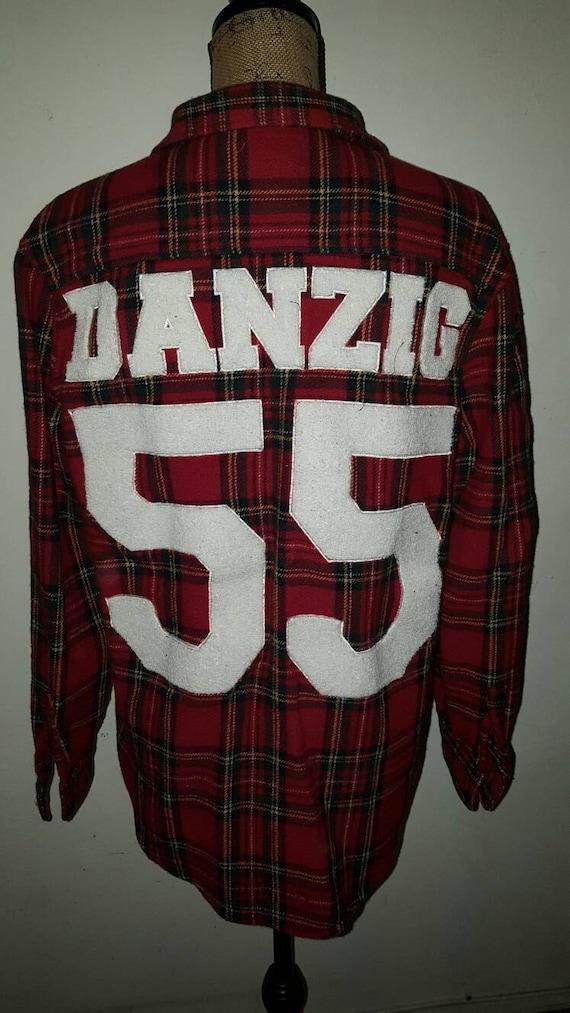 Vintage Red Plaid Danzig Jacket  Large